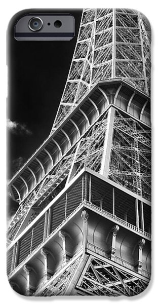 Cultural Icon iPhone Cases - Memories of the Eiffel Tower iPhone Case by John Rizzuto