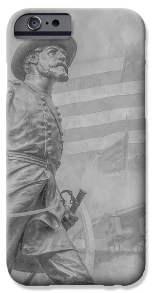 Memories of the Gettysburg Battle iPhone Case by Randy Steele