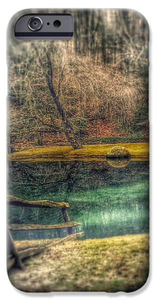 Dream Scape iPhone Cases - Memories Revisited iPhone Case by Steven Huszar