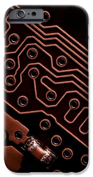 Chip iPhone Cases - Memory Chip iPhone Case by Bob Orsillo