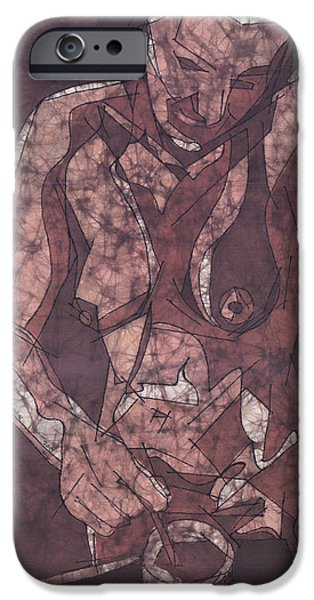 Nudes Tapestries - Textiles iPhone Cases - Memory of Coffee iPhone Case by Kevin Houchin