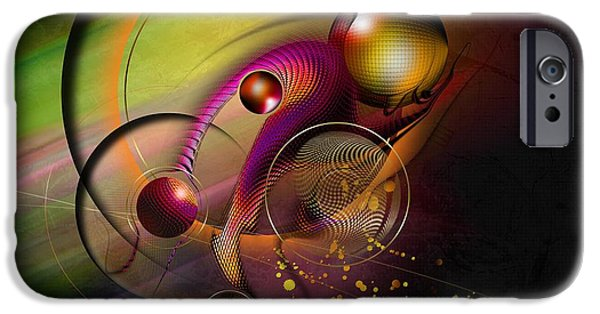 Daniel iPhone Cases - Mene Teckel iPhone Case by Franziskus Pfleghart