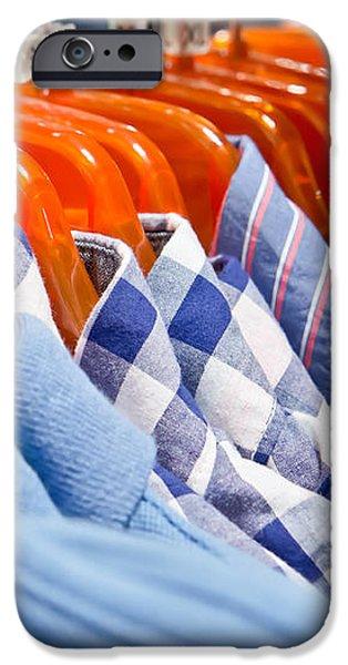 Men's shirts iPhone Case by Tom Gowanlock