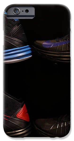 Men's Sports Shoes - 5D20654 iPhone Case by Wingsdomain Art and Photography