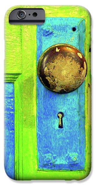 MERCADO DOOR iPhone Case by Joe Jake Pratt