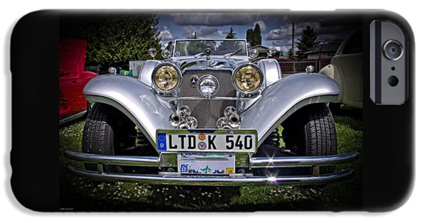 Automotive iPhone Cases - Mercedes Benz 540K Roadster iPhone Case by Thom Zehrfeld