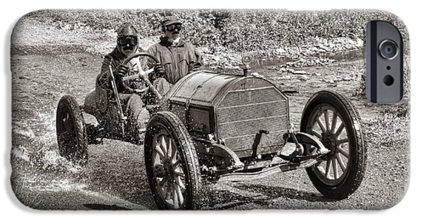 Old Country Roads Photographs iPhone Cases - Mercer Raceabout iPhone Case by Olivier Le Queinec