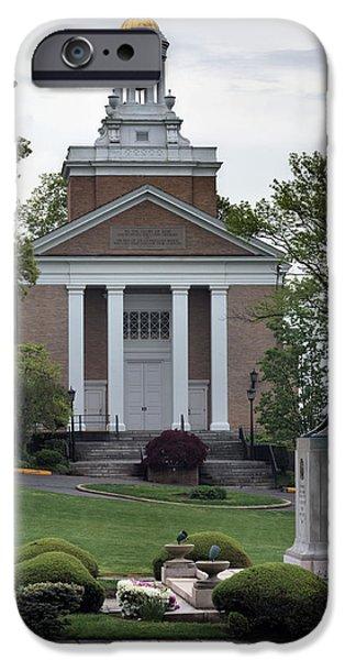 Merchants iPhone Cases - Merchant Marine Academy Chapel V iPhone Case by JC Findley