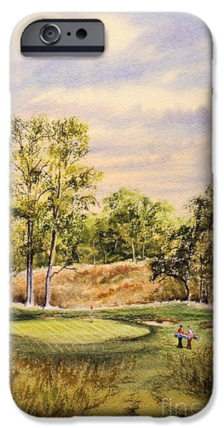 Merion Golf Club iPhone Case by Bill Holkham