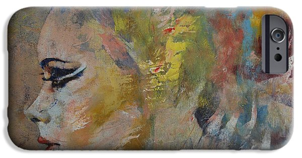 Extinct And Mythical iPhone Cases - Mermaid iPhone Case by Michael Creese