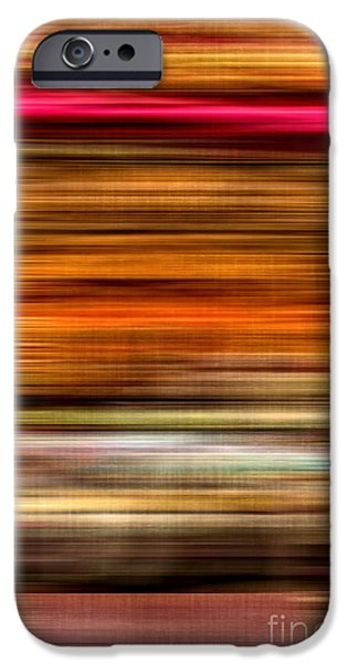 Earth Tones Photographs iPhone Cases - Merry Go Round Abstract iPhone Case by Edward Fielding