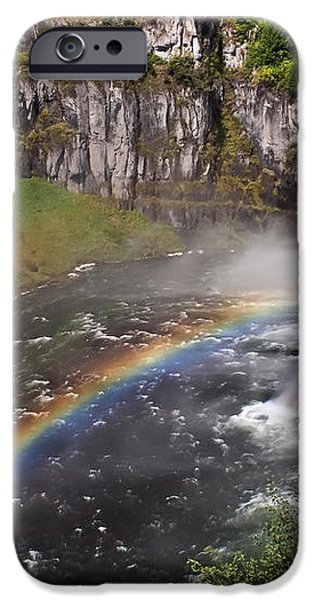 Mesa Falls iPhone Case by Robert Bales
