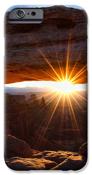 Mesa Sunrise iPhone Case by Chad Dutson