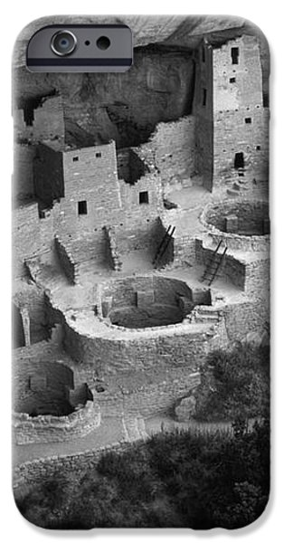Mesa Verde Monochrome iPhone Case by Bob Christopher