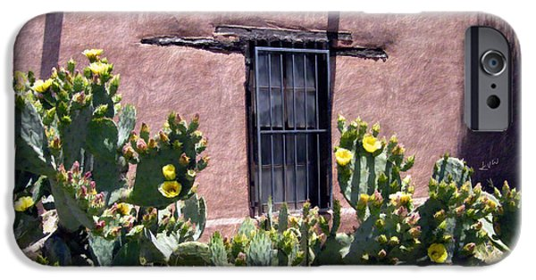 Las Cruces New Mexico Digital Art iPhone Cases - Mesilla Bouquet iPhone Case by Kurt Van Wagner