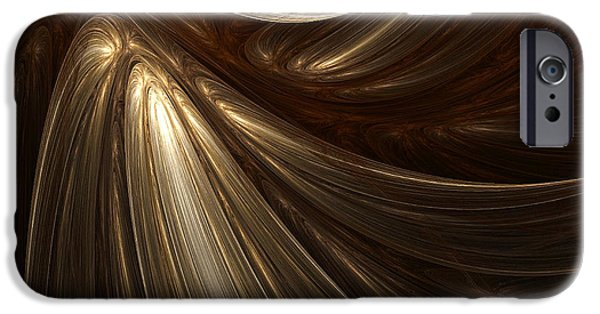Light And Dark  iPhone Cases - Mesmerize iPhone Case by Lourry Legarde