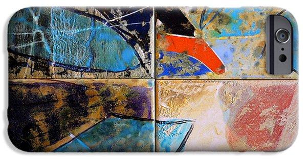 Still Life Ceramics iPhone Cases - Message of Peace iPhone Case by Antonio  Cristo