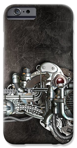 Danger from above iPhone Case by Diuno Ashlee