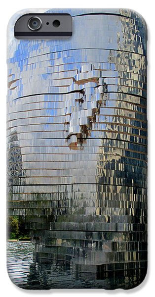 Metalmorphosis Right Side iPhone Case by Randall Weidner