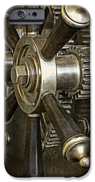 Wine Vault iPhone Cases - Metals Bank Door iPhone Case by Image Takers Photography LLC - Carol Haddon