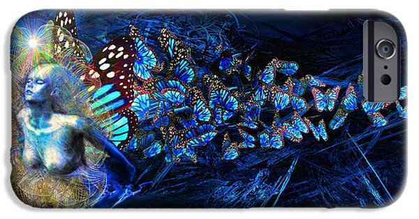 Business Digital iPhone Cases - Metamorphosis iPhone Case by Michael Durst