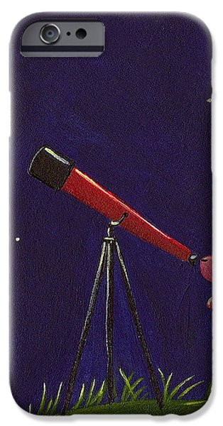 Meteor Shower iPhone Case by Christy Beckwith