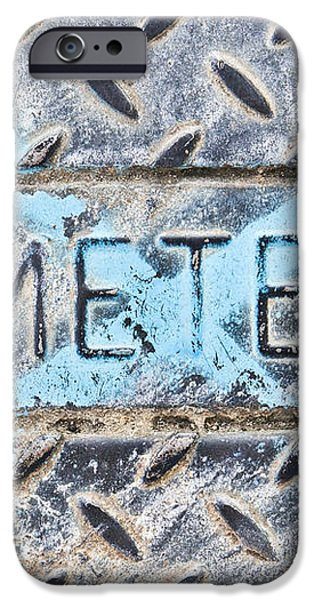 Meter cover iPhone Case by Tom Gowanlock