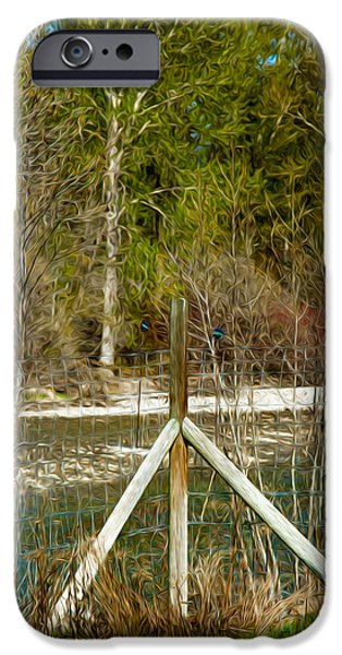 Methow River Springtime iPhone Case by Omaste Witkowski