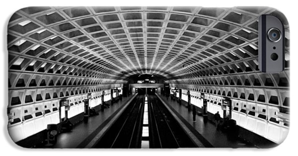 Arlington iPhone Cases - Metro iPhone Case by Greg Fortier