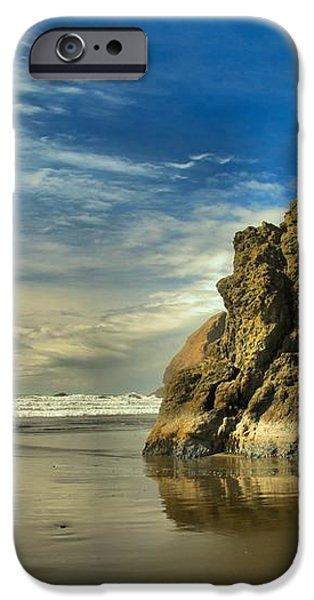 Meyers Beach Stacks iPhone Case by Adam Jewell