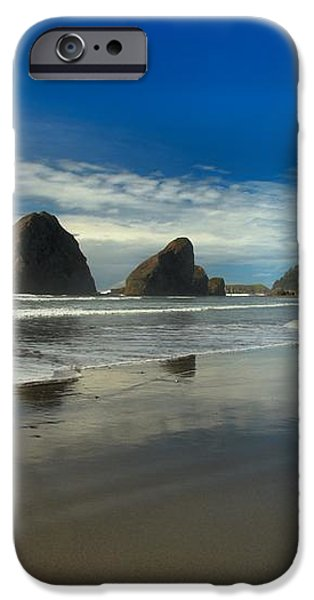 Meyers Creek Beach iPhone Case by Adam Jewell