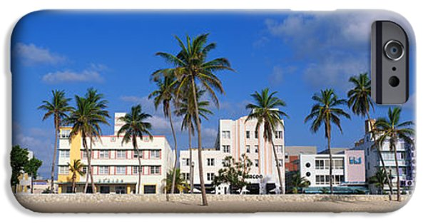 Fl iPhone Cases - Miami Beach Fl iPhone Case by Panoramic Images