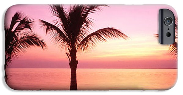 Pastel iPhone Cases - Miami Beach, Florida, Usa iPhone Case by Panoramic Images
