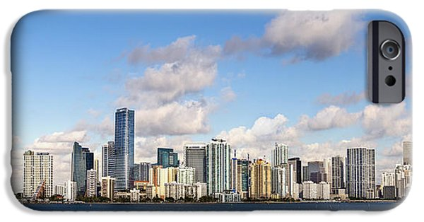 Miami Photographs iPhone Cases - Miami Heat iPhone Case by Evelina Kremsdorf