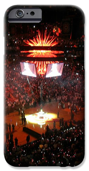 Miami Heat  iPhone Case by J Anthony