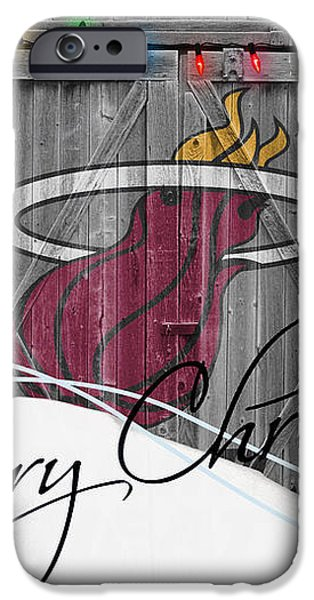 MIAMI HEAT iPhone Case by Joe Hamilton