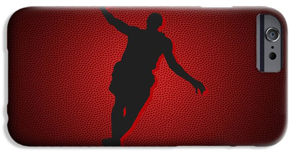 Lebron iPhone Cases - Miami Heat Lebron James iPhone Case by Joe Hamilton
