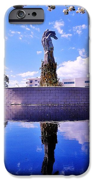 Genocides iPhone Cases - Miami Holocaust Memorial iPhone Case by Benjamin Yeager