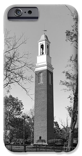 Miami University Beta Bell Tower iPhone Case by University Icons