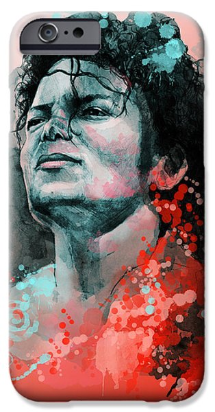 Billie Jean iPhone Cases - Michael Jackson 13 iPhone Case by MB Art factory