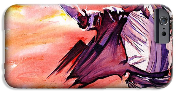 Michael Paintings iPhone Cases - Michael Jackson-Billie Jean iPhone Case by Joshua Morton