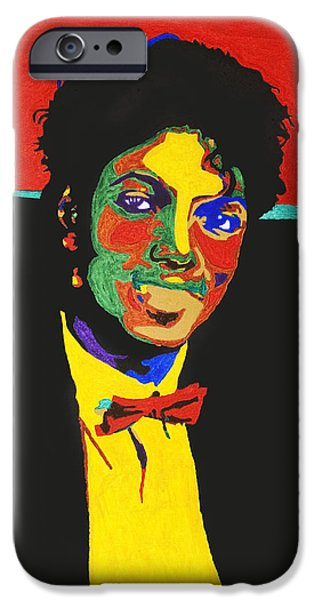 King Of Pop. Dancer iPhone Cases - Michael Jackson iPhone Case by Stormm Bradshaw