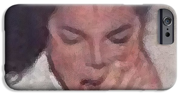 King Of Pop. Dancer iPhone Cases - Michael iPhone Case by Kume Bryant