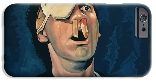President iPhone Cases - Michael Palin iPhone Case by Paul  Meijering