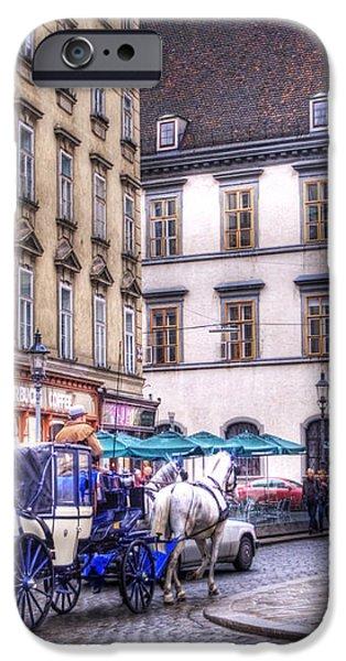 Michaelerplatz. Vienna iPhone Case by Juli Scalzi