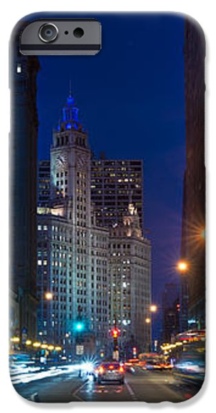 Michigan Avenue Chicago iPhone Case by Steve Gadomski