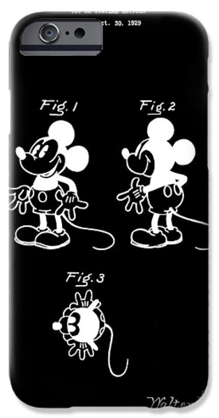 Toy Store iPhone Cases - Mickey Mouse Design iPhone Case by Dan Sproul