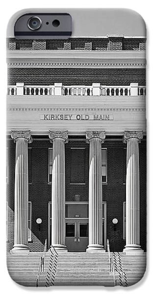 Middle Tennessee State Kirksey Old Main iPhone Case by University Icons