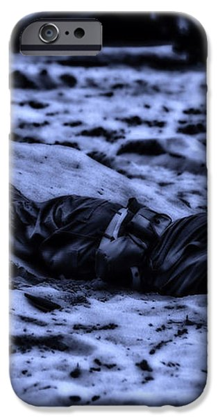 Midnight Battle All Alone iPhone Case by Thomas Woolworth