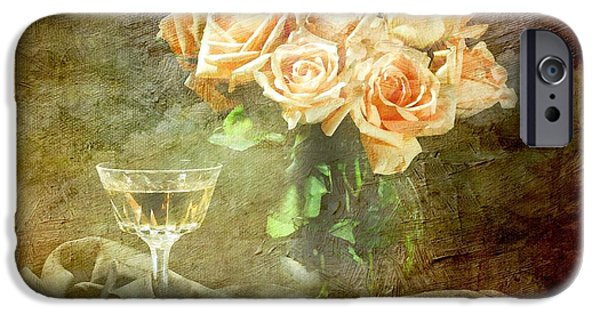 Table Wine iPhone Cases - After Midnight iPhone Case by Diana Angstadt